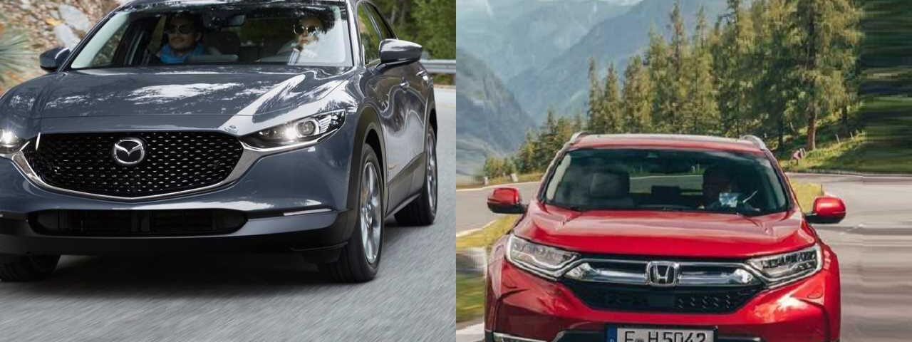 2020 Mazda Cx-30 vs 2019 Honda Cr-V