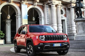 2021 Jeep Renegade 4x4 electric