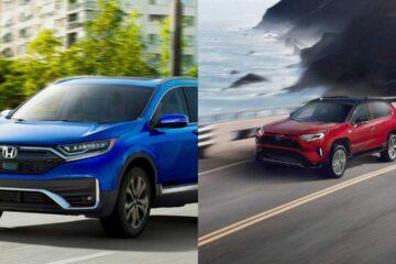 2020 Honda Cr-v vs 2021 Toyota Rav4 prime