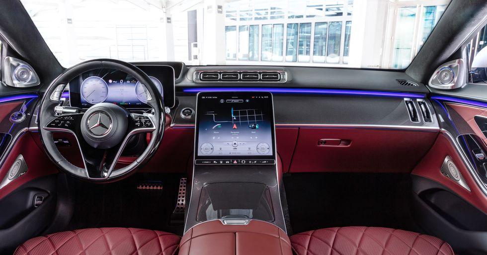 2021 Mercedes-benz s500 class interior
